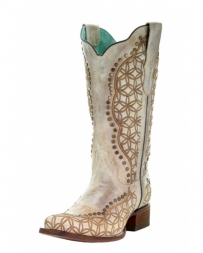 Corral Boots® Ladies' Orix Studs & Embroidery