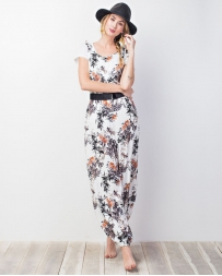 Younique® Ladies' Floral Jumpsuit