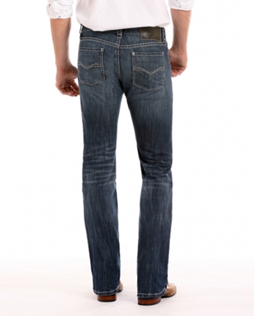 Rock & Roll Cowboy® Men's Revolver Slim Straight Jeans