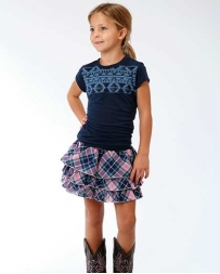 Roper® Girls' Yarn Dye Woven Skirt