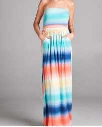 Younique® Ladies' Rainbow Maxi Dress