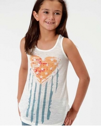 Roper® Girls' Five Star Tank