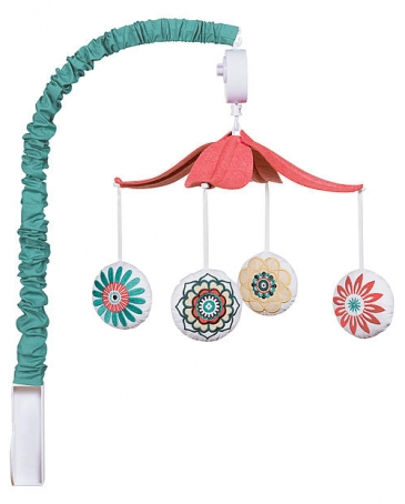 Girls' Pom Pom baby Mobile