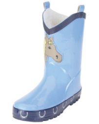 Smoky Mountain® Boots Kids' Blue Pony Poop Kickers
