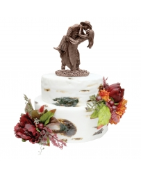 Montana Silversmiths® Head Over Heels Cake Topper