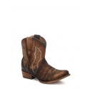 Corral Boots® Ladies' Chocolate Lamb Embroidery