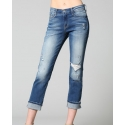 Flying Monkey® Ladies' Distressed Fold Up Straight