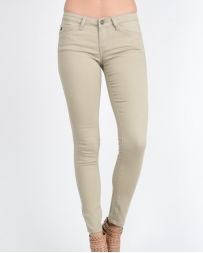Kancan® Ladies' Khaki Colored Skinny