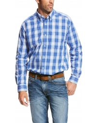 Ariat® Men's Pro Long Sleeve Plaid Shirt - Big & Tall