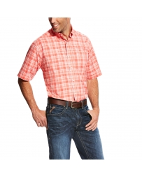 Ariat® Men's Short Sleeve Plaid Shirt