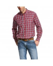 Ariat® Men's Saffrin Long Sleeve Plaid Shirt