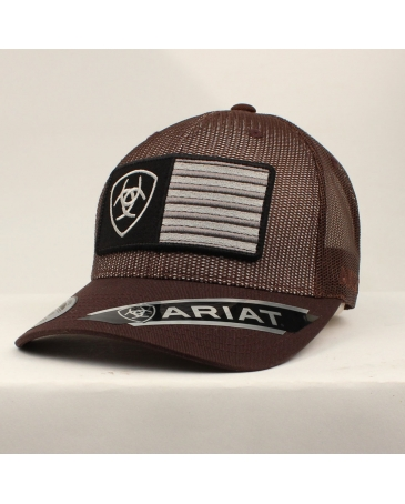 Ariat® Men's Flag Logo Cap