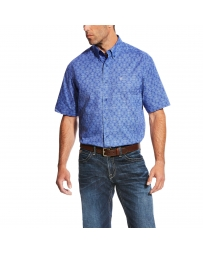 Ariat® Men's Merryll Print Short Sleeve Shirt