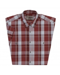 Wrangler® Men's Wrangler Rugged Wear® Wrinkle Resist Plaid Shirt - Big & Tall