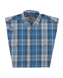 Wrangler® Men's Rugged Wear® Wrinkle Resist Plaid Shirt - Big & Tall