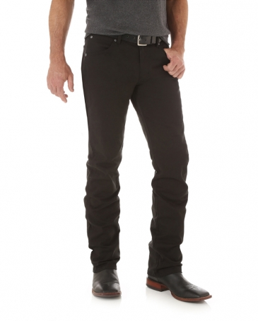 Wrangler Retro® Men's Slim Straight Black Twill Jeans - Tall