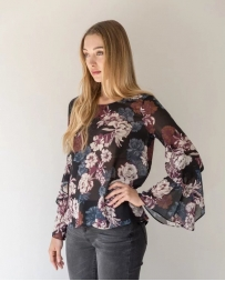 Mystree® Ladies' Floral Top