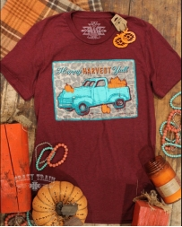 Crazy Train® Ladies' Happy Harvest Tee