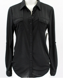 Just 1 Time® Ladies' COA Solid Stretch Shirt