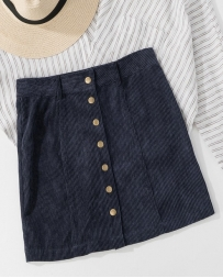 Just 1 Time® Ladies' Corduroy Mini Skirt