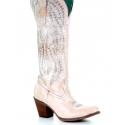 Corral Boots® Ladies' Rose Embroidery Tall Boot
