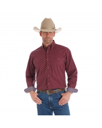 George Strait® Men's Long Sleeve Print Shirt
