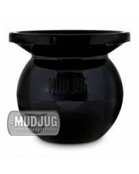 MudJug Classic Black Spittoon