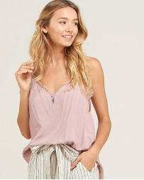 Wishlist® Ladies' Lace Side Layering Tank