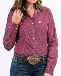 Cinch® Ladies' Print Button Shirt