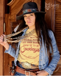 The Coyote Cowgirl® Ladies' Mommas Pleast Let your Babies Be Cowboys