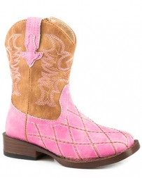 Roper® Girls' Toddler Cross Cut Boot
