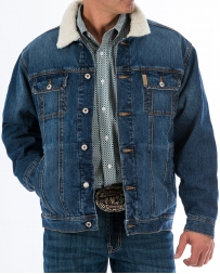Cinch® Men's Denim Sherpa Jacket