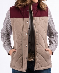Cinch® Ladies' Canvas Vest