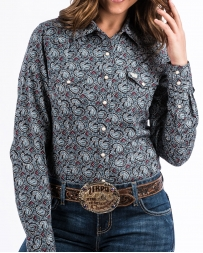 Cinch® Ladies' Print Snap Shirt