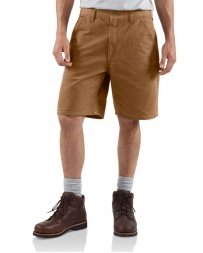 Carhartt® Men's Brown Duck Works Shorts