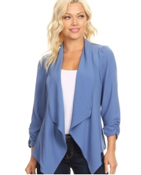 Just 1 Time® Ladies' Solid Waist Blazer