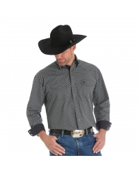 George Strait® Men's Troubadour Long Sleeve Print Shirt - Tall