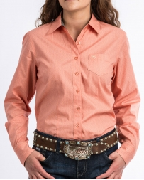 Cinch® Ladies' Coral Button Shirt