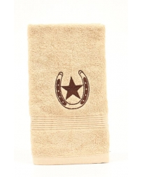 Western Moments® Star & Horseshoe Hand Towel