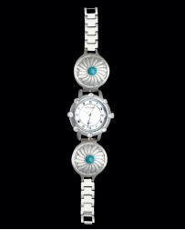 Montana Silversmiths® Ladies' Turquoise Stone Concho Watch