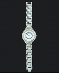 Montana Silversmiths® Ladiese' Silver CZ Watch