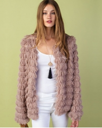 Ladies' Faux Fur Jacket