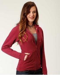 Roper® Ladies' Wine Full Zip Jacket