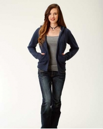 Roper® Ladies' Navy Full Zip Jacket