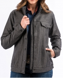 Cinch® Ladies' Texture Softshell Sherpa