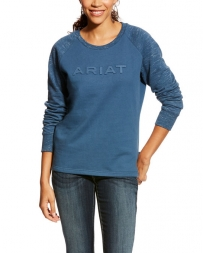 Ariat® Ladies' R.E.A.L Logo Crew
