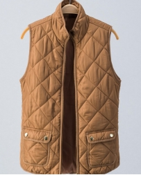 Ladies' Diamond Quilted Vest