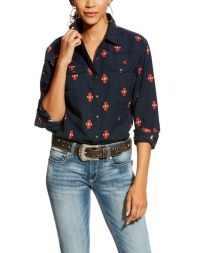 Ariat® Ladies' R.E.A.L Memseric Snap Shirt