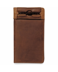 Justin® Boots Fenced In Checkbook Wallet