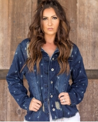 Ladies' Denim Cactus Jacket
